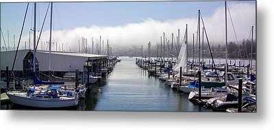 Metal Print featuring the photograph Port Kingston Marina by Greg Reed