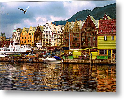 Port Life Metal Print by Steve Harrington