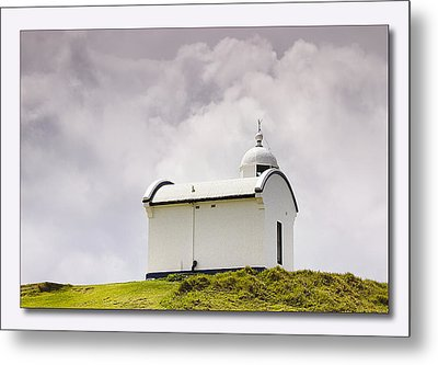 Port Macquarie Nsw Light House 01 Metal Print by Kevin Chippindall