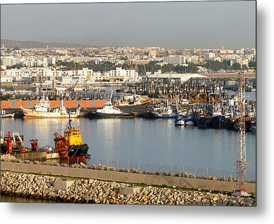 Port Of Agadir Morocco 1 Metal Print