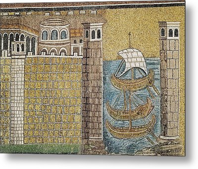 Port Of Classe. 550. Italy. Ravenna Metal Print