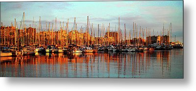 Port Vell - Barcelona Metal Print by Juergen Weiss