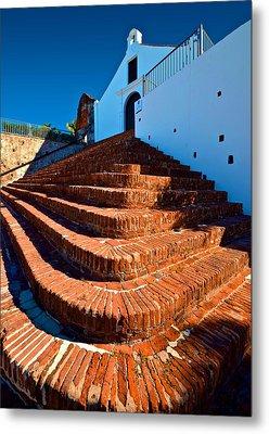 Metal Print featuring the photograph Porta Coeli Steps by Ricardo J Ruiz de Porras