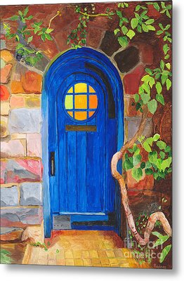 Metal Print featuring the painting Portal by Rodney Campbell