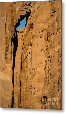 Metal Print featuring the photograph Portal Through Stone by Jeff Kolker