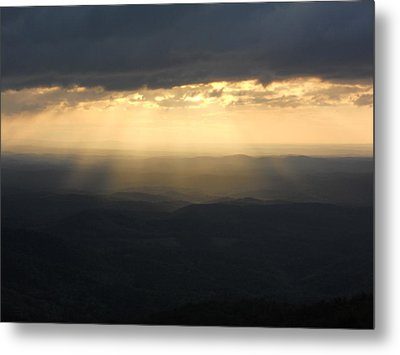 Portal To Heaven On The Blue Ridge Parkway Metal Print