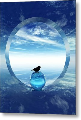 Portal To Peace Metal Print by Richard Rizzo