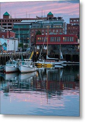 Portland Harbor Metal Print