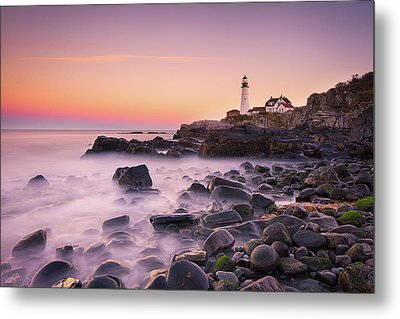 Portland Headlight Metal Print