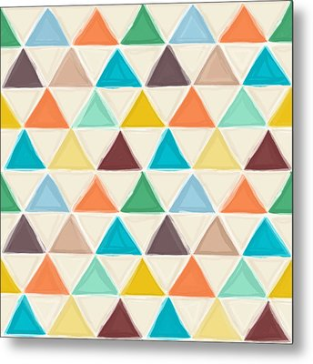 Portland Triangles Metal Print by Sharon Turner