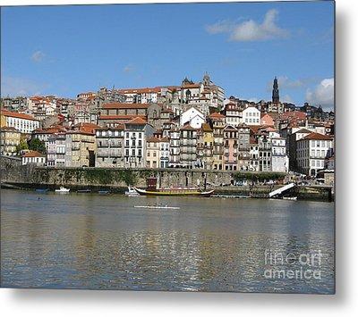 Metal Print featuring the photograph Porto by Arlene Carmel