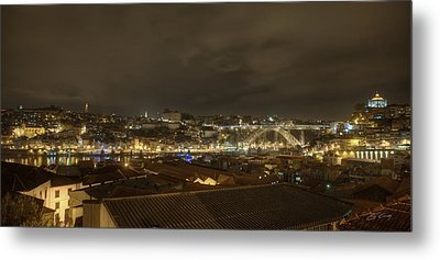 Porto Portugal From Taylor Winery Metal Print
