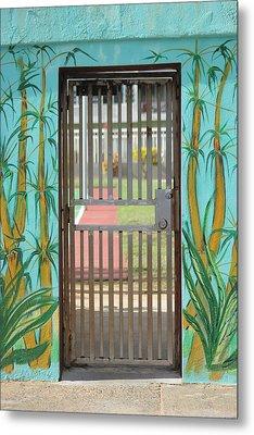 Porton Cerrado Metal Print by The Art of Alice Terrill
