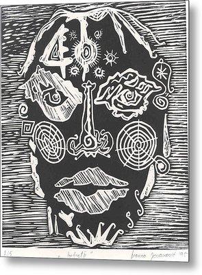 Portrait Metal Print by Branko Jovanovic