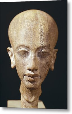 Portrait Bust Of A Daughter Of King Metal Print by Everett