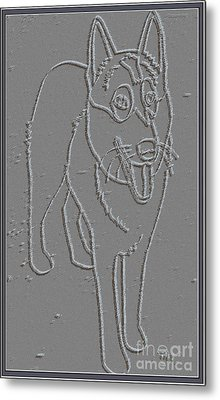 Portrait Of A Friend Poaf00000001 Metal Print by Pemaro