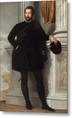 Portrait Of A Man Metal Print by Paolo Veronese