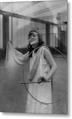 Portrait Of A Young Actress, Original Metal Print by Everett