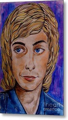 Portrait Of Barry 2 Metal Print