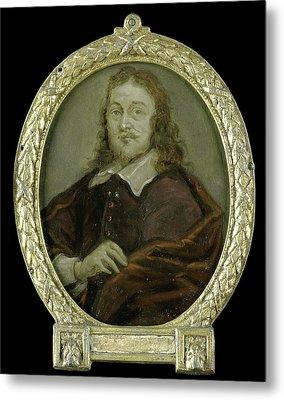 Portrait Of Bonaventura Peeters I, Painter Metal Print by Litz Collection