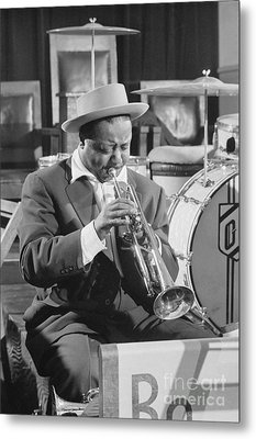 Portrait Of Charlie Shavers 1953 Metal Print by The Harrington Collection