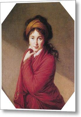 Portrait Of Countess Golovin Metal Print