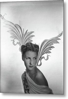 Portrait Of Cynthia Boissevain Metal Print