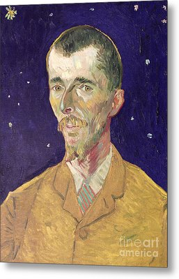 Portrait Of Eugene Boch Metal Print by Vincent Van Gogh