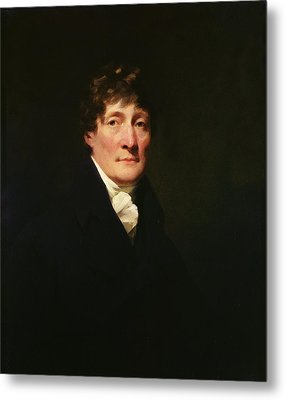 Portrait Of Henry Mackenzie 1745-1831 C.1810 Oil On Canvas Metal Print