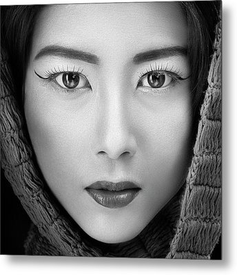 Portrait Of Icha Metal Print