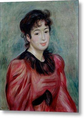 Portrait Of Mademoiselle Victorine De Bellio 1863-1957 1892 Oil On Canvas Metal Print