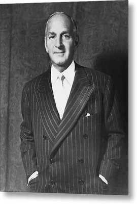 Portrait Of Robert Lehman Metal Print