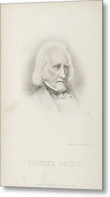 Portrait Of The Author Metal Print