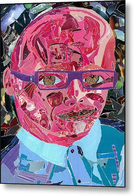 Portraiture Of Passion Metal Print by Kenneth James
