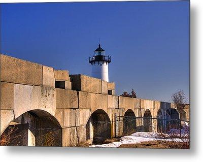 Portsmouth Harbor Light 2 Metal Print by Joann Vitali