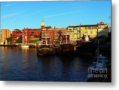 Portsmouth In The Afternoon Metal Print
