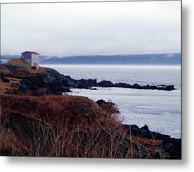 Portugal Cove Metal Print by Zinvolle Art