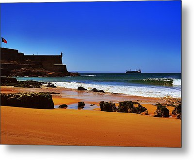 Portuguese Coast Metal Print by Marco Oliveira