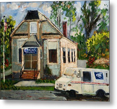 Post Office At Lafeyette Nj Metal Print