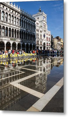 Metal Print featuring the photograph Postcard From Venice by Georgia Mizuleva