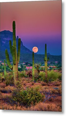 Postcard Perfect Arizona Metal Print