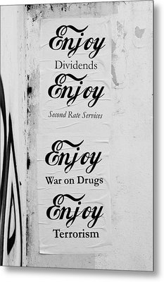 Posters Metal Print by Tom Gowanlock
