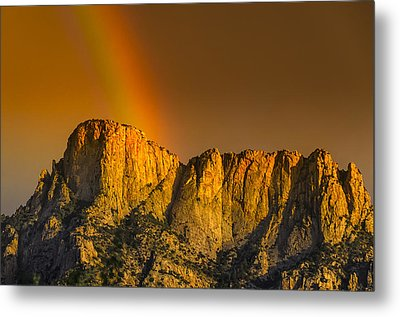 Pot Of Gold Metal Print by Mark Myhaver