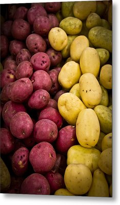 Aaron Berg Metal Print featuring the photograph Potatoes by Aaron Berg