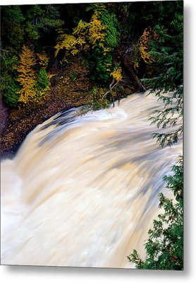 Potawatami Falls Metal Print by Tim Hawkins