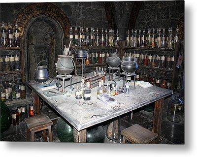 Potions Metal Print