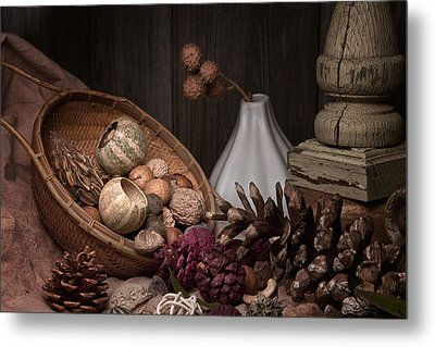 Potpourri Still Life Metal Print by Tom Mc Nemar