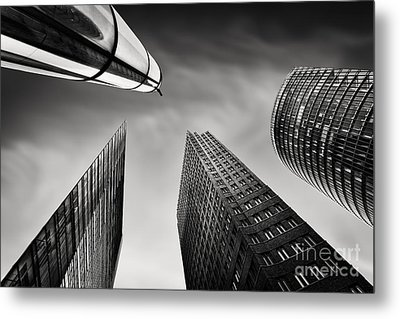Potsdamer Platz 3 Metal Print by Rod McLean