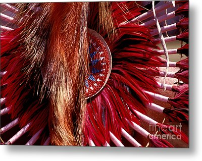 Pow-wow Costume Metal Print by Paul W Faust -  Impressions of Light