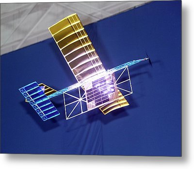 Power-beam Aircraft Research Metal Print